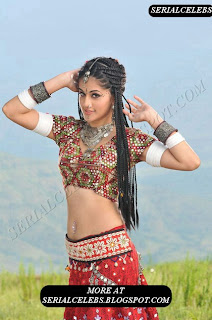 Tapsee Navel show