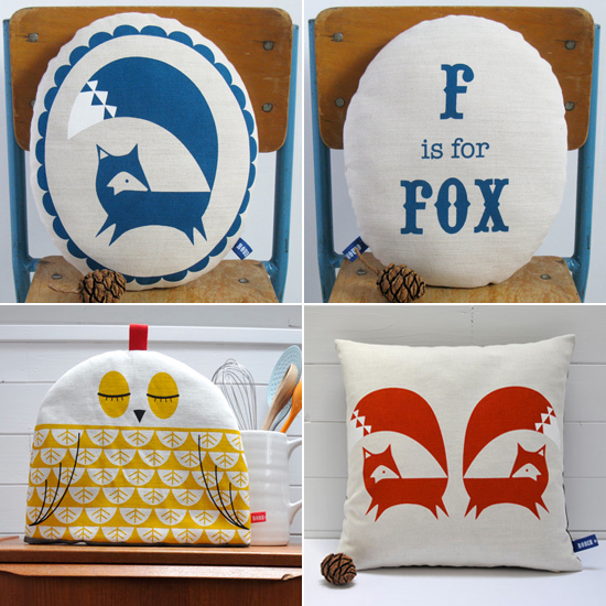 Handmade screen printed textiles by @robinandmould