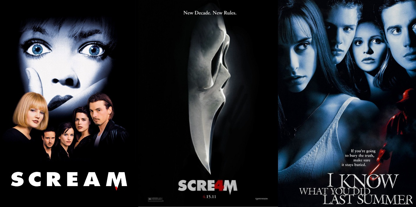 What I've Been Watching In: October (Halloween Edition) Movie Review Scream Scream 4 I Know What You Did Last Summer