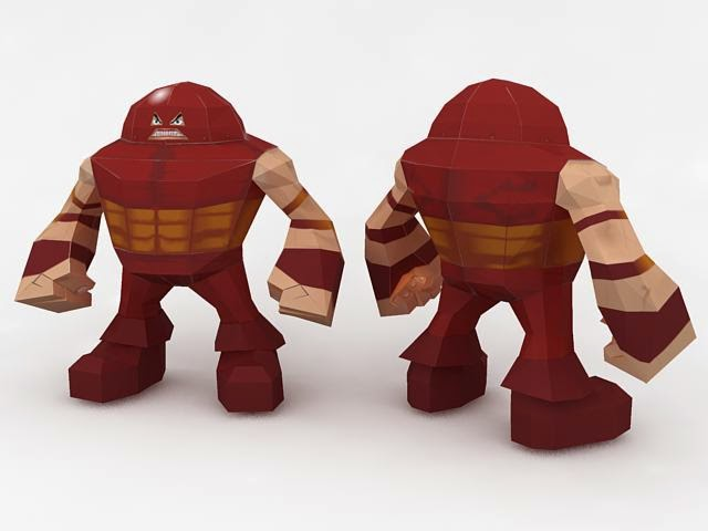 SD Juggernaut Papercraft