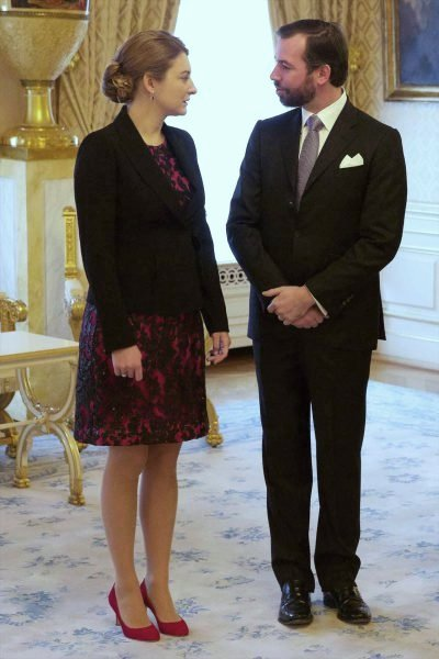 The Grand Ducal Family's 2016 New Year's Reception