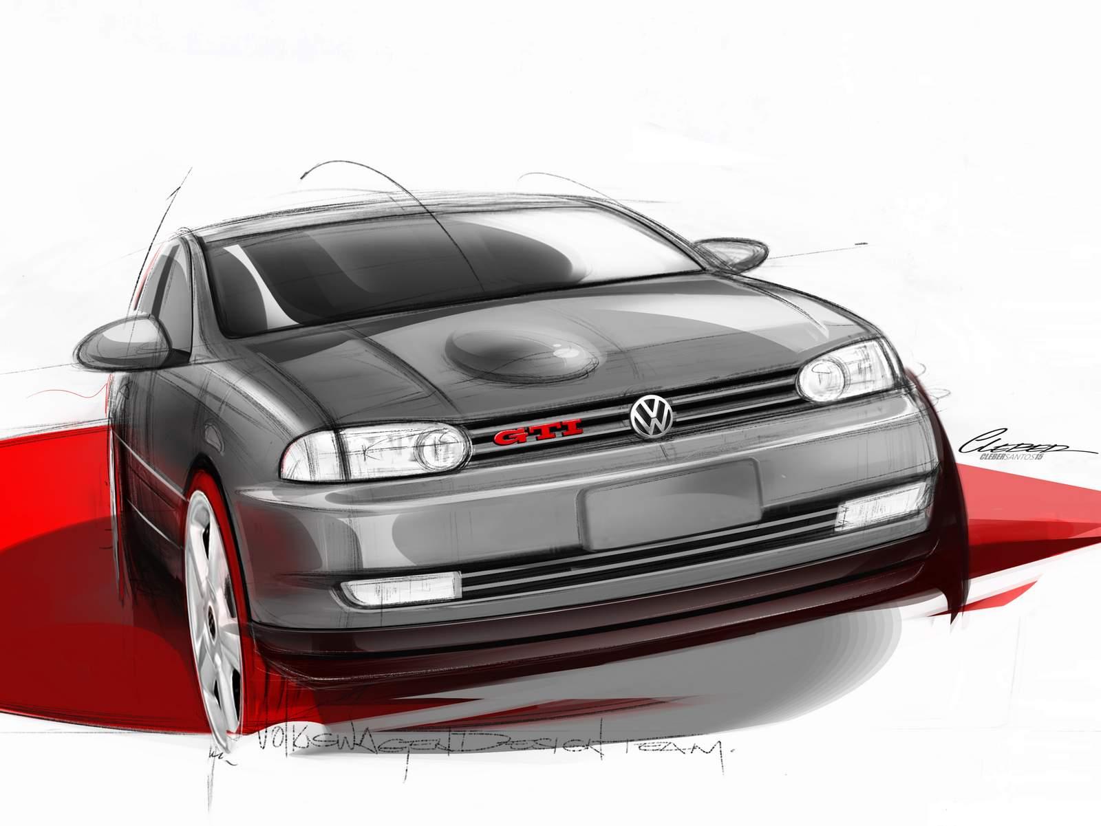 VW Gol GTI Bolinha