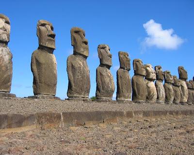 La Isla de Pascua - Chile. Isla de Pascua. Isla de Rapa Nui. Polinesia