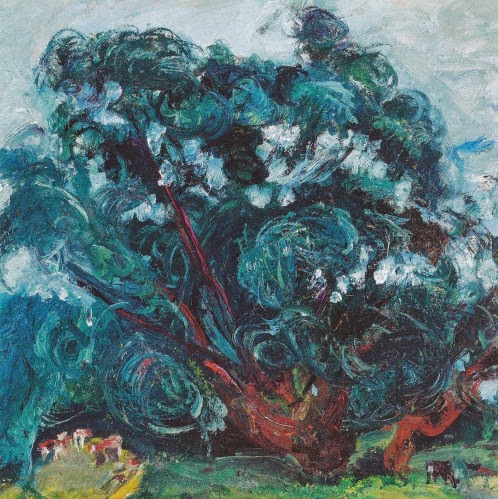 Chaim Soutine - L'arbre