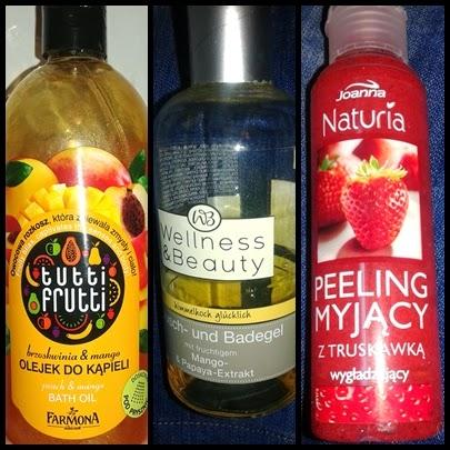 Owocowe pobudzenie zmysłów - ulubione produkty kąpielowe