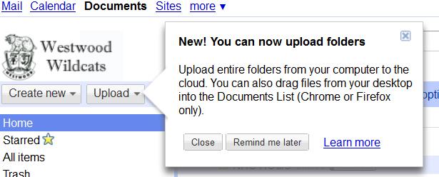 how to find folders google docs