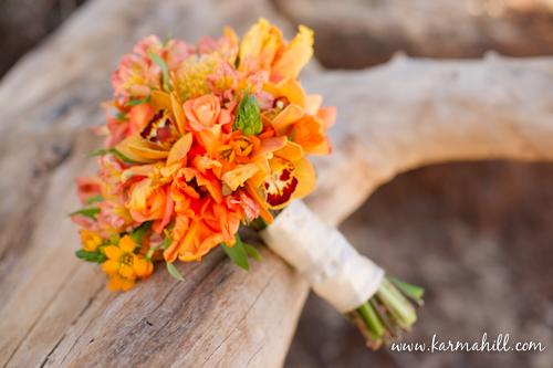 Maui wedding floral