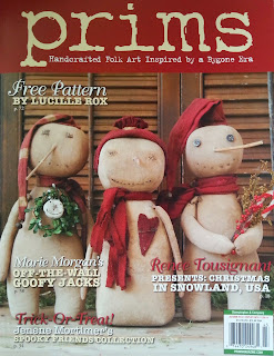Featured in the 2014 fall / winter issue of Prims magazine.