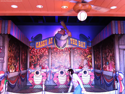 Casey Bat Boardwalk Game baseball DCA Disney Paradise Pier