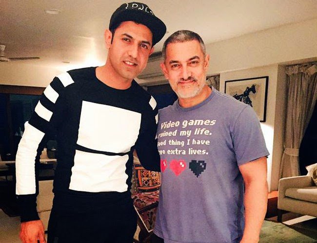 Singer, Gippy Grewal, Actor, Aamir Khan, Selfie, Dangal