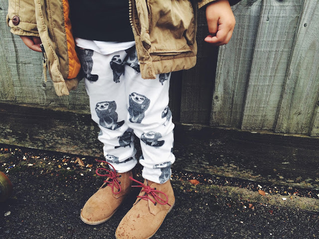 Born Free & Me Sloth Leggings