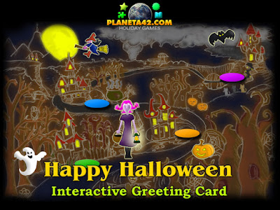 Happy Halloween - Free Online Greeting Card