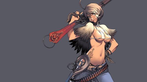 sexy hazuki jin blade and soul anime girl