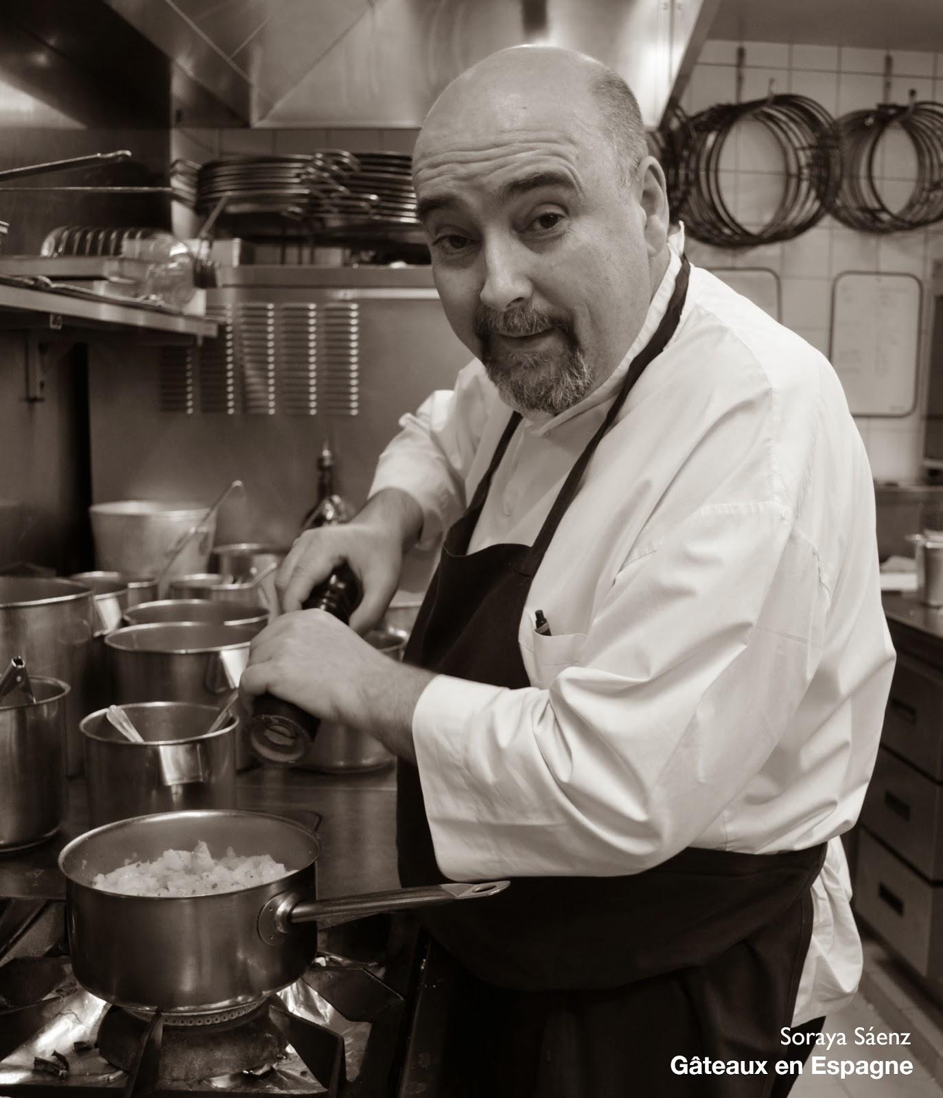 chef Alberto Herraiz restaurant fogon paris