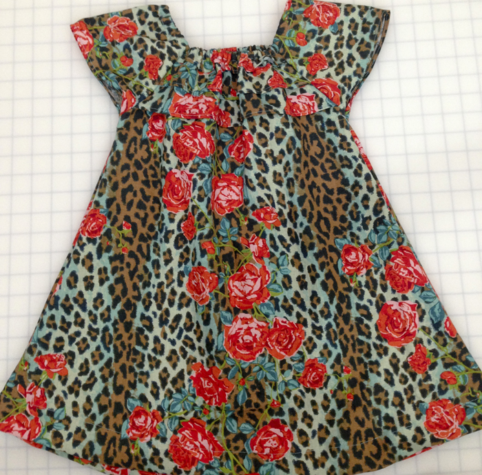 خياطة فستان لبنت خطوة خطوة