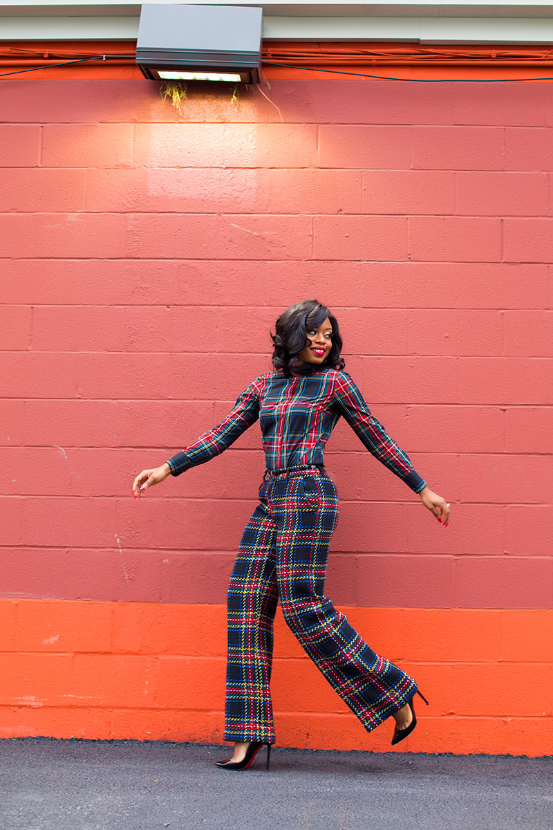 holiday style, plaid on plaid, www.jadore-fashion.com
