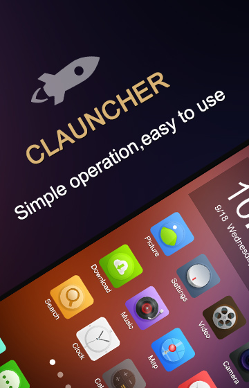 CLauncher android