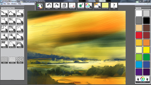 Corel Painter Freestyle - App