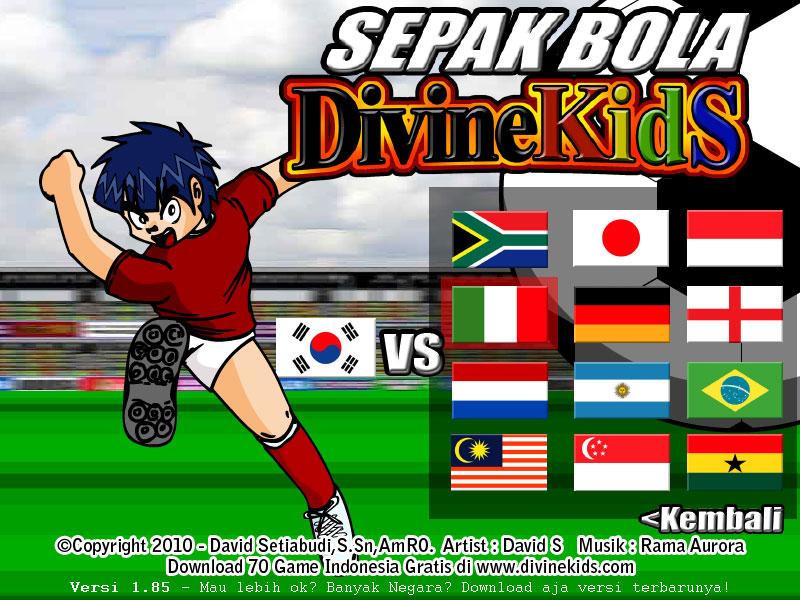 computer game: Sepak Bola Divine Kids