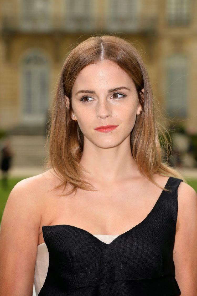 Emma Watson Spicy Photoshoot at Christian Dior Fashion Show