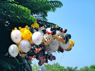 Disneyland balloon at Hong Kong Disneyland