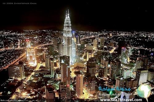 عاصمة ماليزيا الساحرة