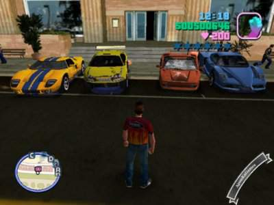 GTA Vice City Xtreme Speed MOD Screenshots