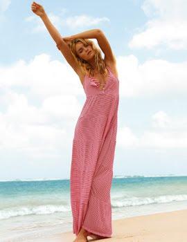 vestidos largos playa