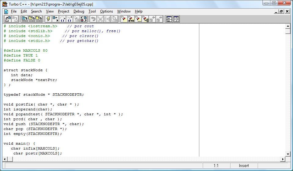Turbo C++ 4.5