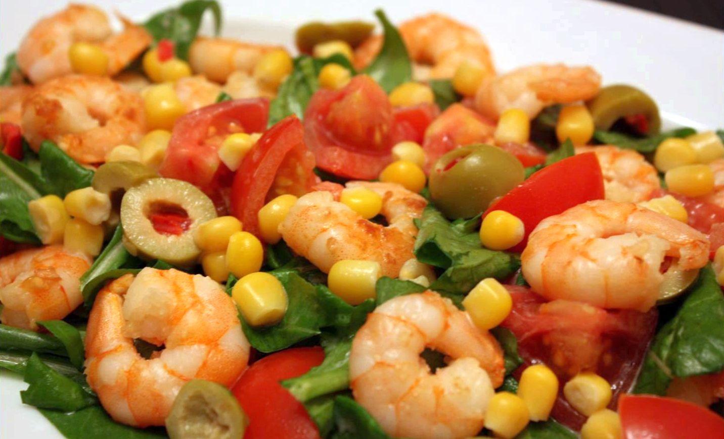 Karides Salatası Tarifi – Salata Tarifleri