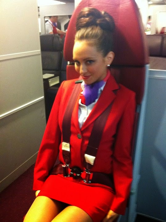 Virgin Atlantic flight attendant