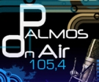 Ακούστε live Palmos On AIR 105.4 Greek Pop Περιοχή: Αθήνα Web: palmosradio.gr