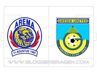 Prediksi Pertandingan Arema vs Gresik United