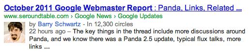 авторские метки google