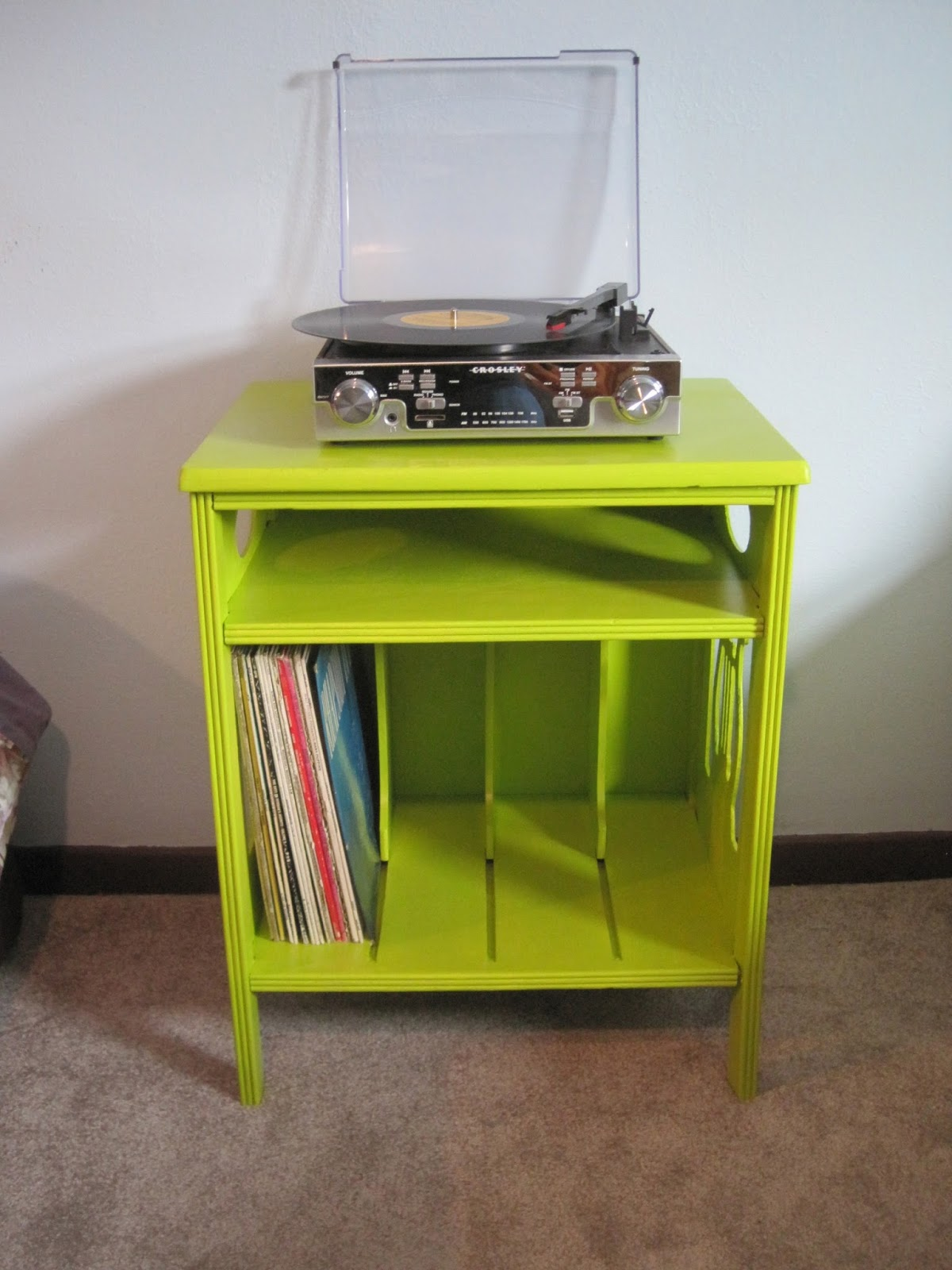 Clever Bunnies Record Table Refinish