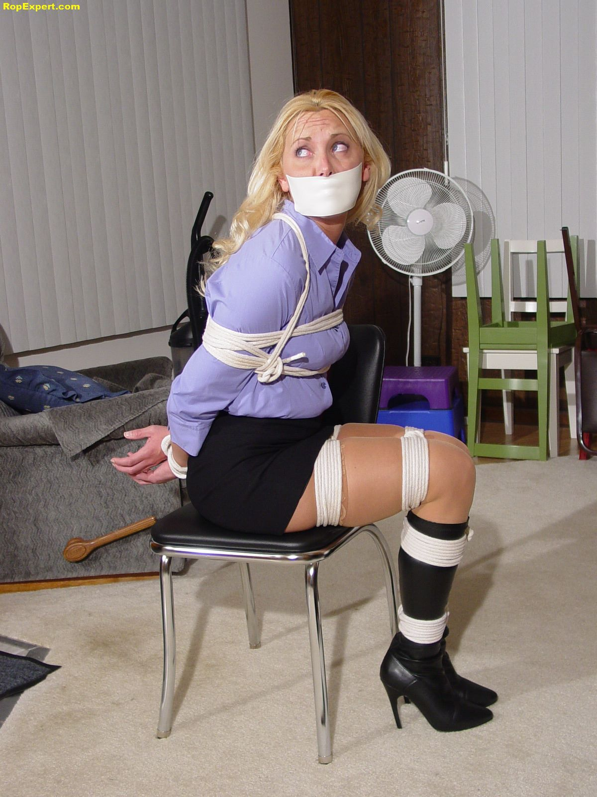from Graysen women tied up in boots