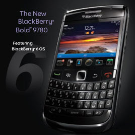 Specifications BlackBerry Bold 9780