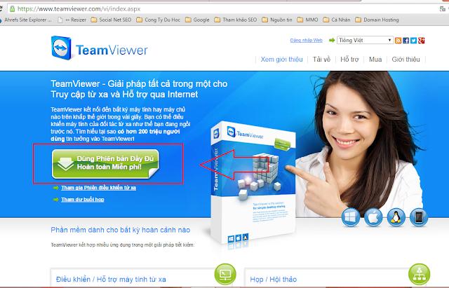 Tải và cài đặt Teamviewer mới nhất