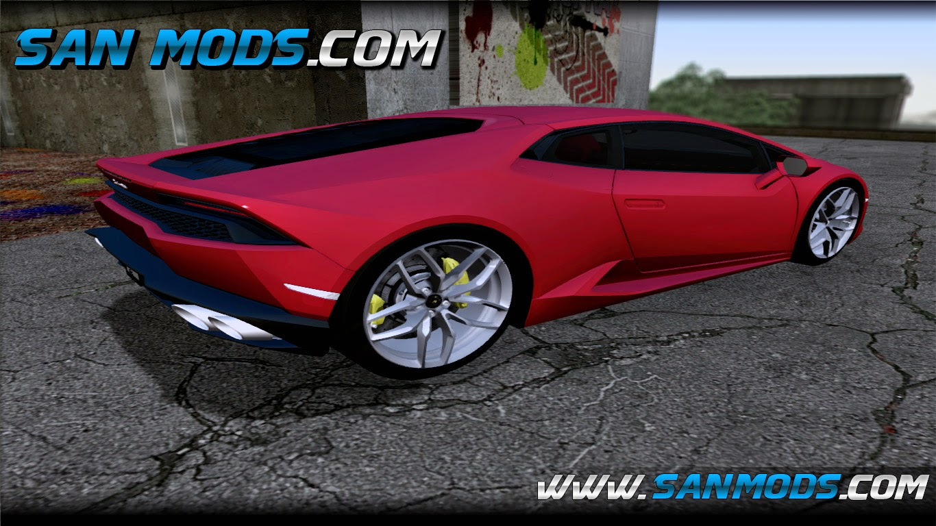 gta sa lamborghini huracan 2013. Black Bedroom Furniture Sets. Home Design Ideas