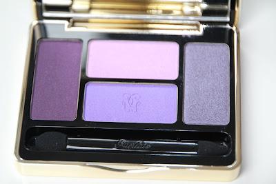 Guerlain écrin 4 couleurs nouvelle palette automne 2011 01 les violets test avis essai blog swatch