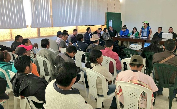 Problemática del Nevado del Cocuy: Gobierno de Boyacá cumple a comunidades del Norte del departamento