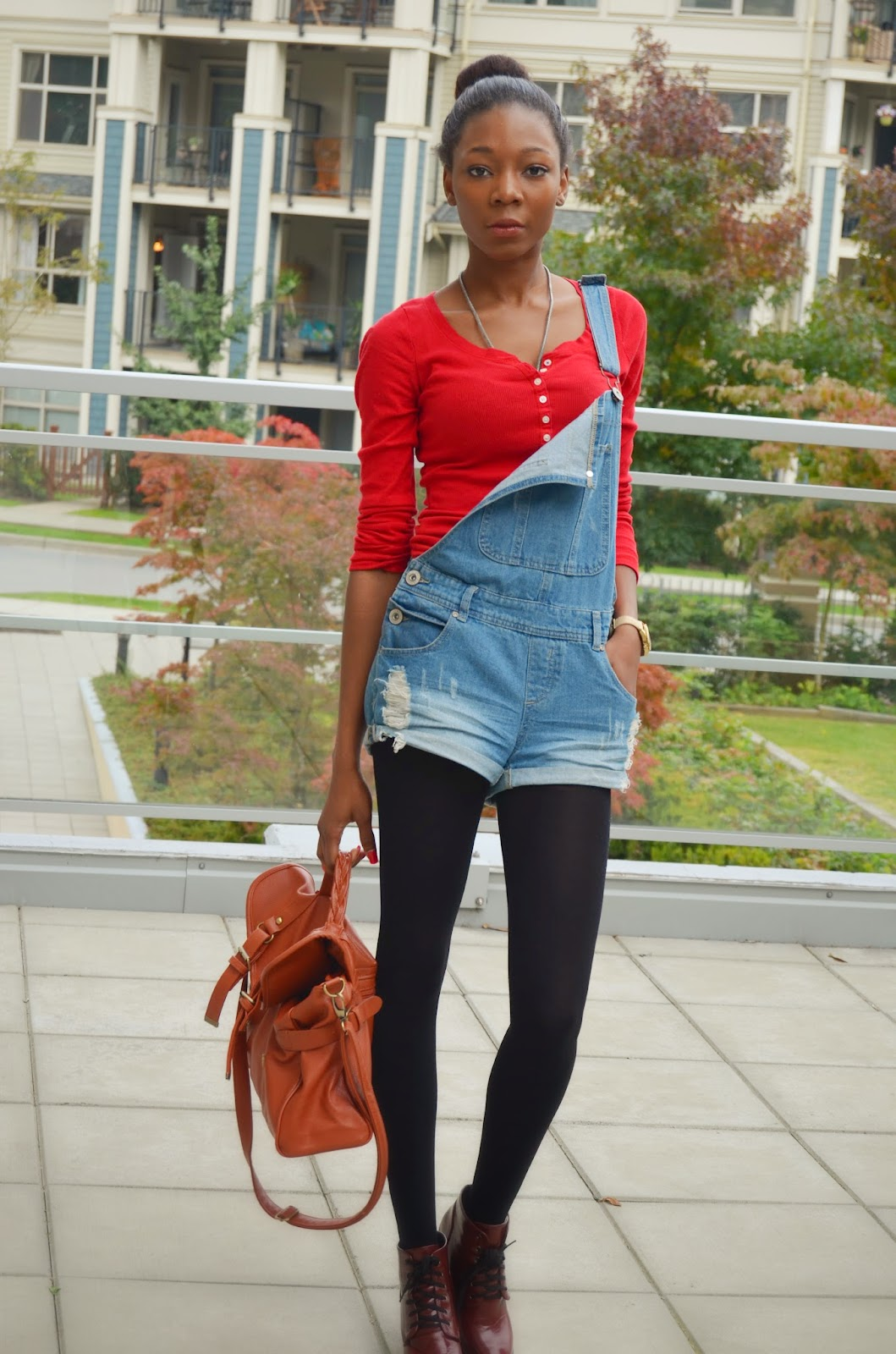 Dungarees, Vintage leather bag, Overalls, Pinafore