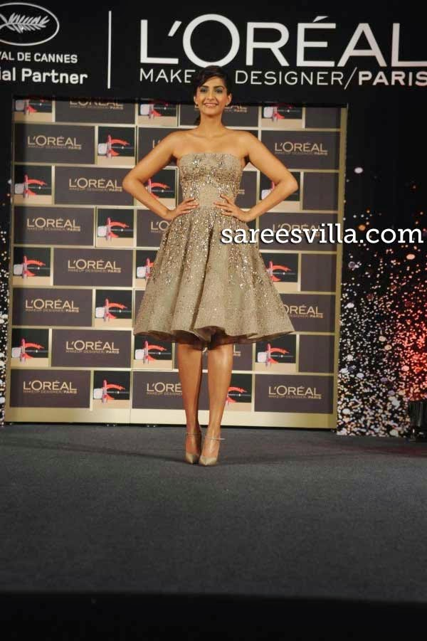 Sonam Kapoor in an Elie Saab Couture dress