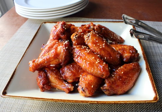 Crispy Honey Sriracha Chicken Wings – Ladies and Gentlemen, We Have a Winner