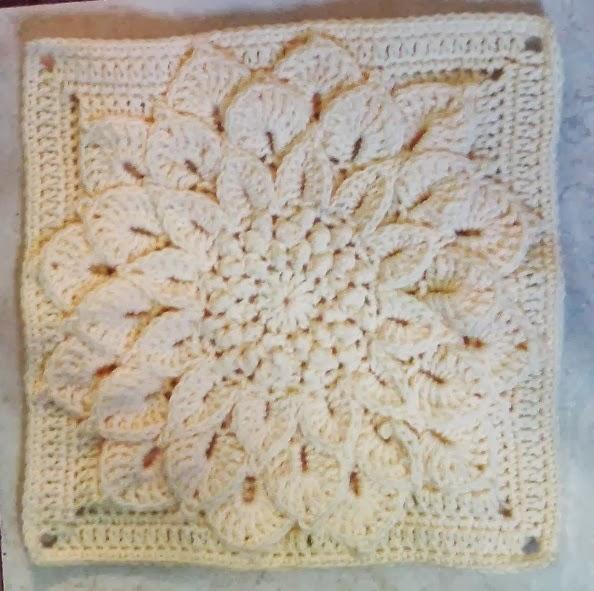 Free Crochet Pattern Crocodile Flower : Lets create: Crochet Crocodile Flower Square