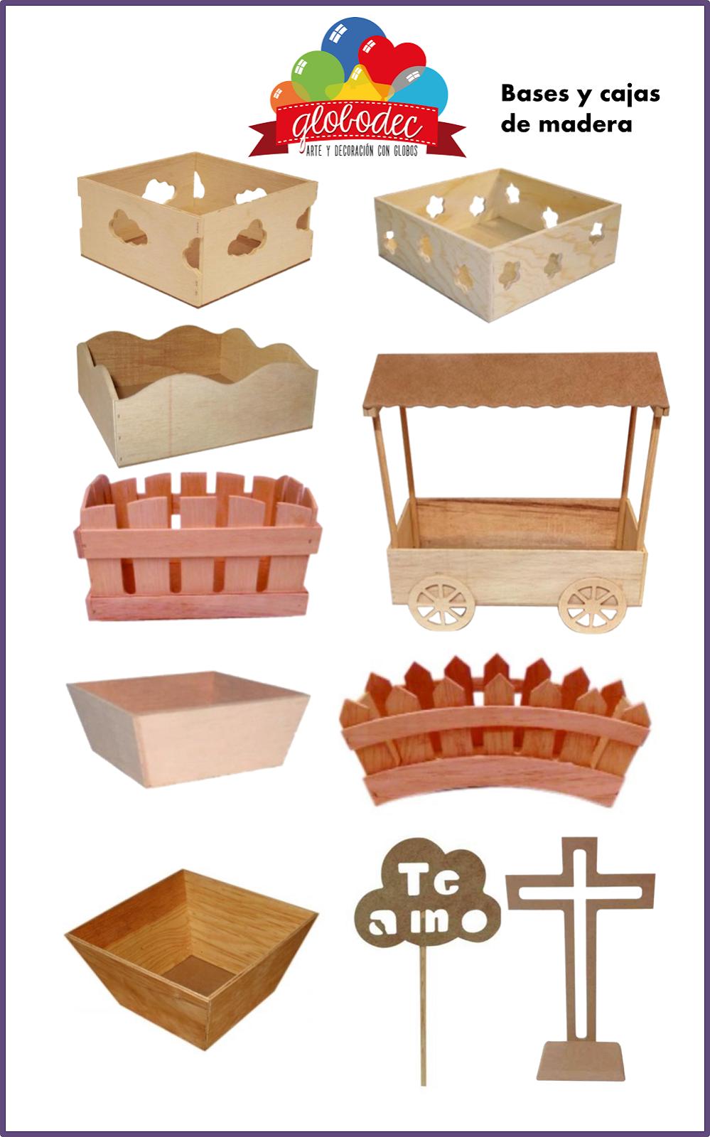 Bases para centros de mesa car interior design - Decoracion de cajas ...