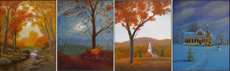 holiday,Halloween,autumn,Thanksgiving,Christmas,seasonal,church,lights,snowman,pumpkin,Jack O' Lantern,fall,trees,house,snow