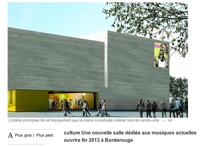 La Ville Rose S 39 Offre Un Quipement Culturel Blanc Et Or