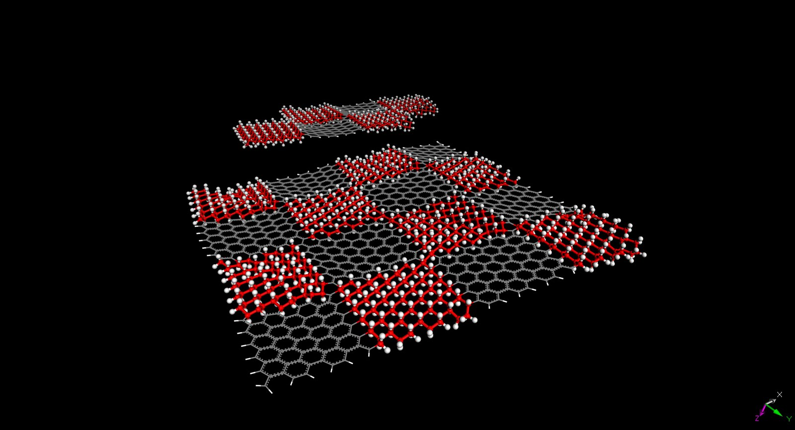 Graphene-based chemical sensors, thermoelectric devices and metamaterials