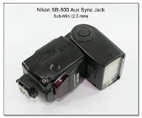 Nion SB-800 with Sub-Mini Aux Sync Jack